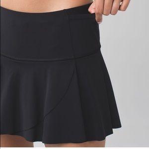Hit Your Stride Black Skirt